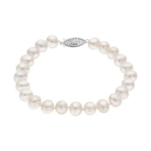 PearLustre by Imperial 7-7.5 mm Freshwater Cultured Pearl Bracelet