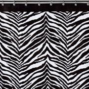 Creative Bath Zebra Shower Curtain Collection