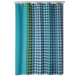 Allure Home Creations On a Dot Shower Curtain Collection