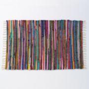 Eco Chic Chindi Reversible Recycled Garment Rug