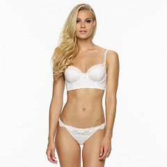 Jezebel Darlie Lace-Trim Bra & Panties - Women's