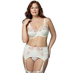 Elila Glamour Full-Figure Bra & Panties Lingerie Set