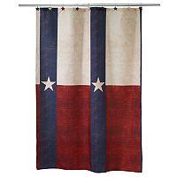 Avanti Texas Star Shower Curtain Collection