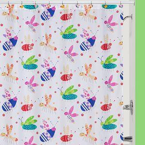 Creative Bath Cute as a Bug Shower Curtain Collection
