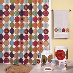 Creative Bath Dot Swirl Shower Curtain Collection