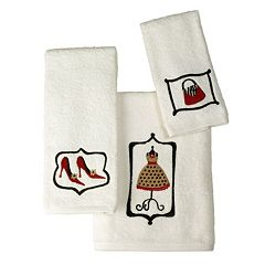 Saturday Knight, Ltd. Fashion Passion Bath Towel Collection