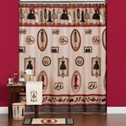 Saturday Knight, Ltd. Fashion Passion Shower Curtain Collection