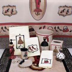 red toothbrush holders bath accessories - bathroom, bed & bath