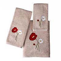 Saturday Knight, Ltd. Poppy Field Bath Towel Collection