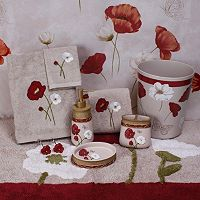 Saturday Knight, Ltd. Poppy Field Bathroom Accessories Collection
