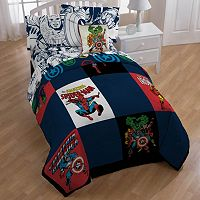 Marvel Heroes Comic Heroes Comforter Collection