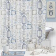 Creative Bath Seaside Shower Curtain Collection