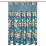 Popular Bath Floral Bouquet Shower Curtain Collection