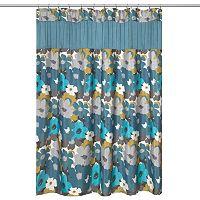 Popular Bath Floral Bouquet Shower Curtain Collection