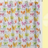 Kathy Davis Flutterby Shower Curtain Collection