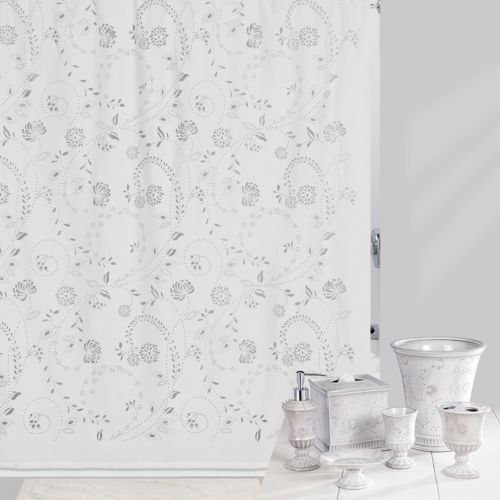 Creative Bath Shower Curtain creative bath eyelet shower curtain collection