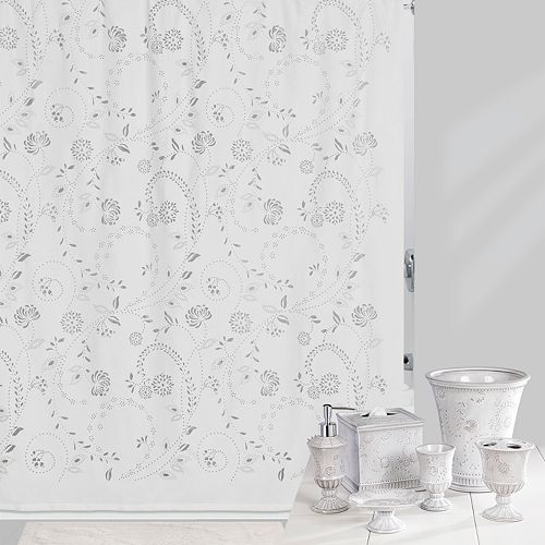Creative Bath Eyelet Shower Curtain Collection