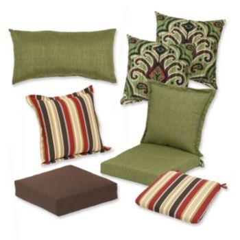 Plantation Patterns Patio Cushion Collection