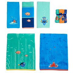 Disney Pixar Finding Dory Bath Towel Collection By Jumping Beans