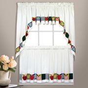 United Curtain Co. Appleton Swag Tier Kitchen Window Curtains