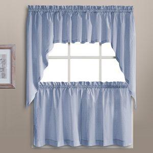 United Curtain Co. Dorothy Dots Kitchen Window Treatments