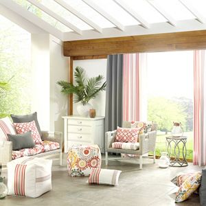 Madison Park 3M Scotchgard Outdoor Cushions, Poufs & Throw Pillows