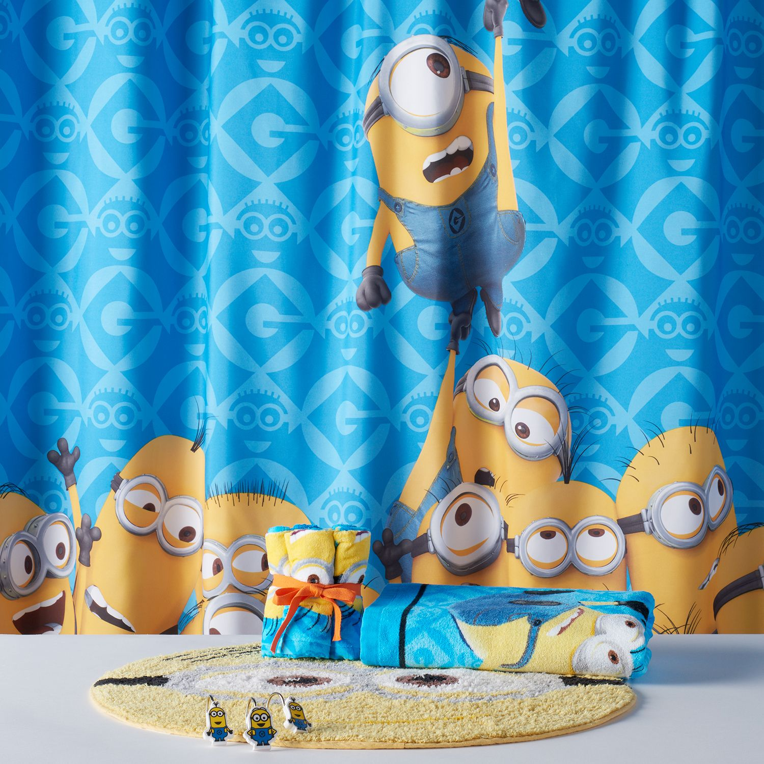 Exceptional Minions Mayhem Shower Curtain Collection