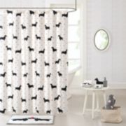 HipStyle Hannah Dachshund Shower Curtain Collection