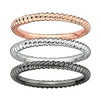 Stacks & Stones Twist Stack Ring
