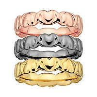 Stacks & Stones Heart Stack Ring