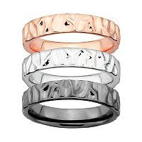 Stacks & Stones Textured Stack Ring