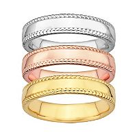 Stacks & Stones Milgrain Stack Ring