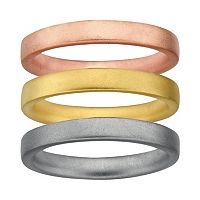 Stacks & Stones Satin Finish Stack Ring