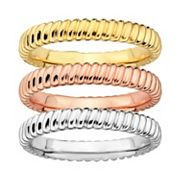 Stacks & Stones Ribbed Stack Ring