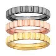 Stacks & Stones Beveled Stack Ring