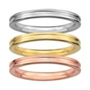 Stacks & Stones Grooved Stack Ring