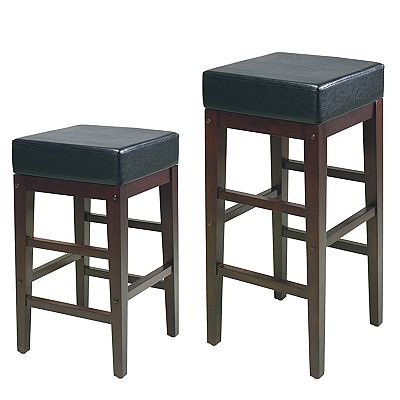 Office Star Products Square Bar Stool