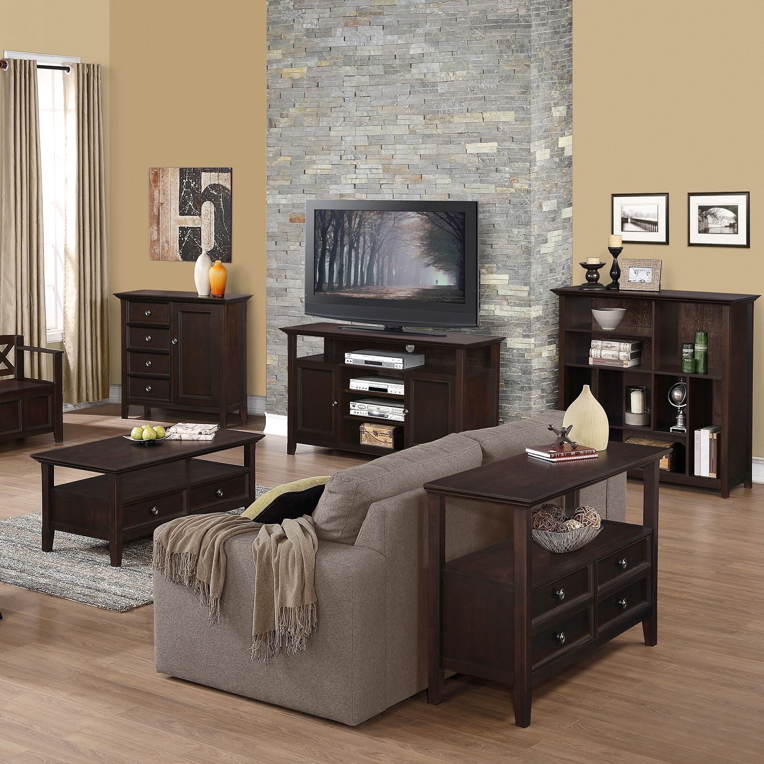 Good Simpli Home Amherst Furniture Collection