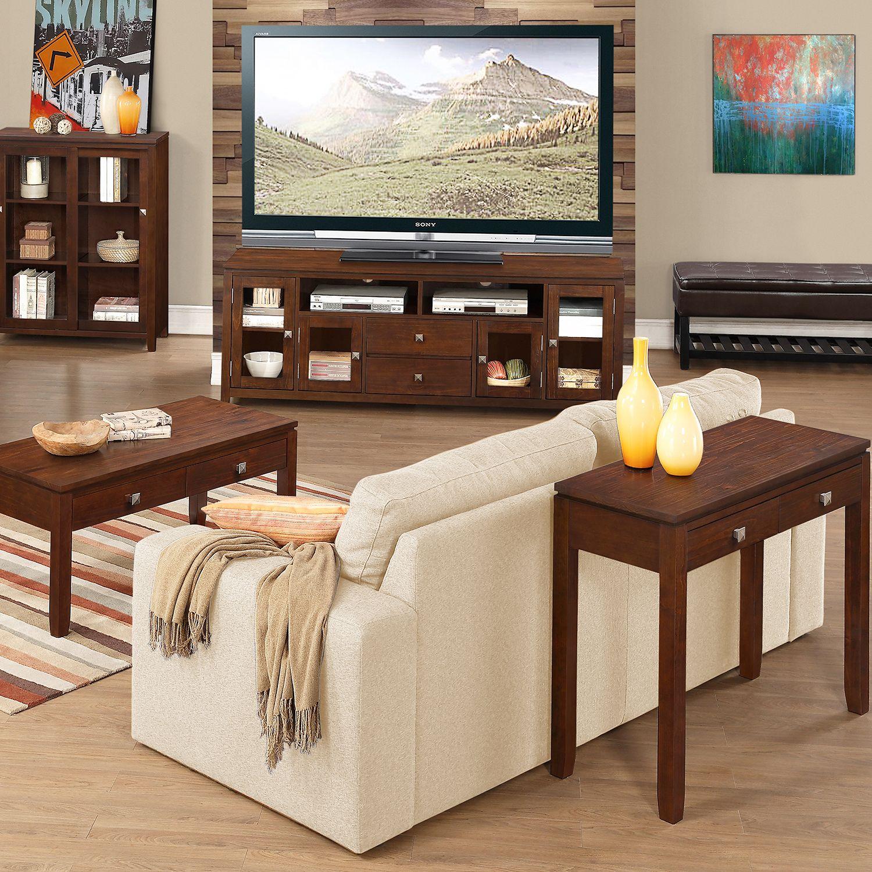 Simpli Home Cosmopolitan Furniture Collection