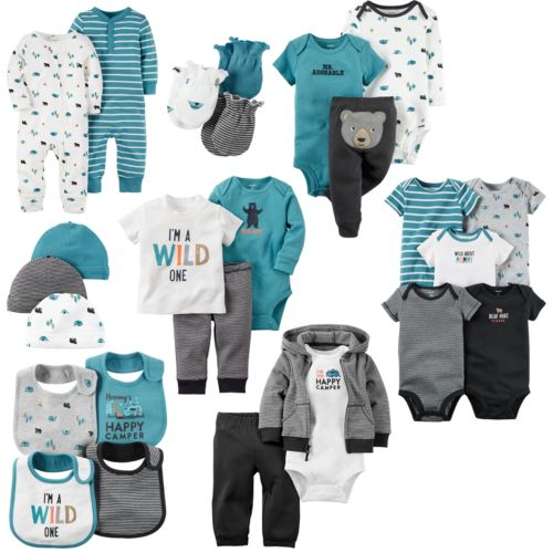 Baby Boy Carter's Little Wild One Mix & Match Collection