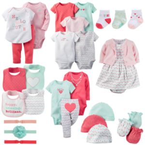Baby Girl Carter's Hello Cutie Mix & Match Collection