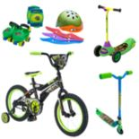 Youth Teenage Mutant Ninja Turtle Pedal, Push & Protect Collection
