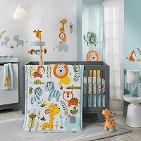 Happi Jungle by Dena Nursery Coordinates by Lambs & Ivy