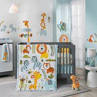 Happi Jungle by Dena Nursery Coordinates by Lambs & Ivy