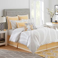 Jill Rosenwald Groton Swirl Comforter Collection