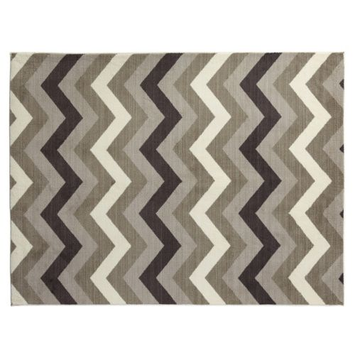 SPACES Home & Beyond by Welspun Chevron Neutrals Rug