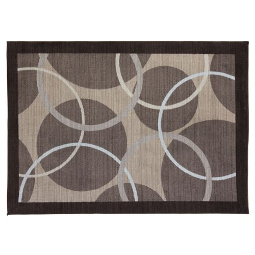 SPACES Home & Beyond by Welspun Circles Geometric Rug