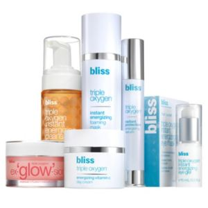 bliss Triple Oxygen Skin Care