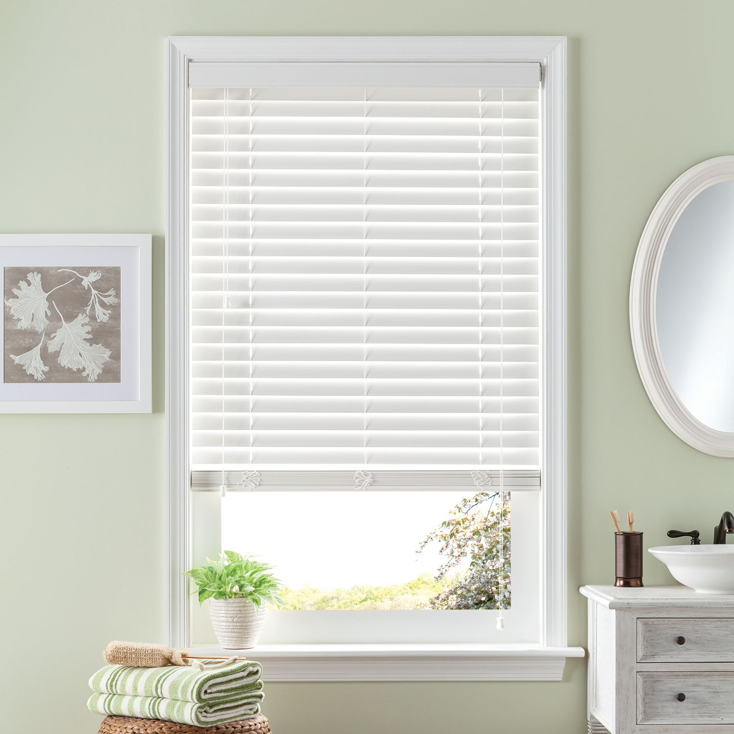 bali room darkening 2u0027u0027 slat fauxwood blinds