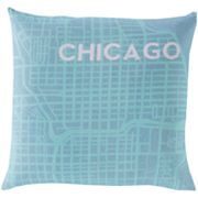 Artisan Weaver Cities Decorative Pillow